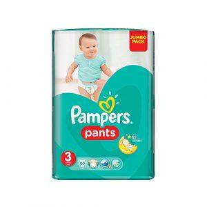 Pampers Pants plienkové nohavičky Midi (3) 60 ks