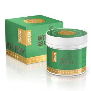 Biobaza ANTICELLULITE Active telová maska zelený íl 400 g